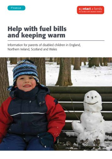 Help with fuel bills and keeping warm