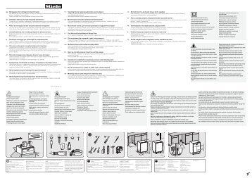 Miele G 4860 SCVi - Schema di montaggio