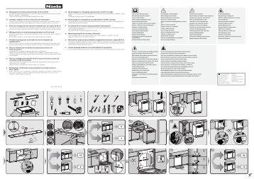 Miele G 6512 SCU - Schema di montaggio