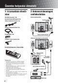 Sony KDL-32V2000 - KDL-32V2000 Istruzioni per l'uso Ungherese - Page 4