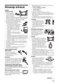 Sony KDL-32V2000 - KDL-32V2000 Istruzioni per l'uso Ungherese - Page 7