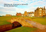 at St Andrews?