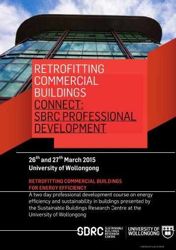 Download course flyer as PDF - Sustainable Buildings Research ...
