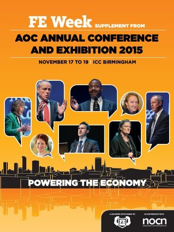 AOC ANNUAL CONFERENCE AND EXHIBITION 2015