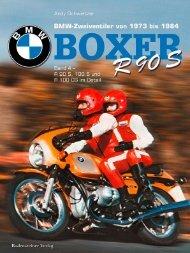 BMW Boxer Band 4 - BMW R 90 S, R 100 S und R 100 CS von 1973 bis 1984