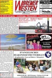Bremer Westen - Ausgabe für Dezember 2015