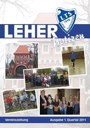LTS Heft 1/2011 - Leher Turnerschaft von 1898 e.V.