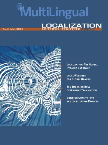 LOCALIZATION Guide - MultiLingual Computing, Inc.