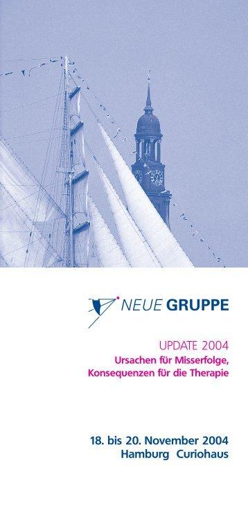 UPDATE 2004 - Neue Gruppe