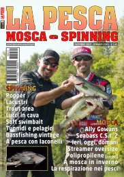 La Pesca Mosca e Spinning 6/2015