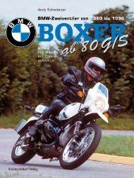 BMW Boxer Band 2 - Alle Modelle mit Einarmschwinge von 1980 bis 1996