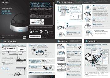 Sony HMZ-T2 - HMZ-T2 Guida di configurazione rapid Francese