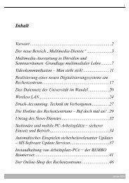 PDF-Datei - Rechenzentrum - Universität Würzburg