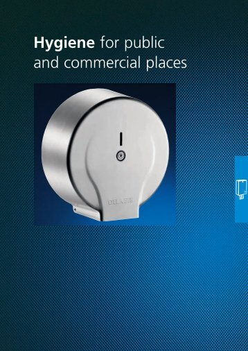 Hygiene for Public and Commerical Places - RIBA Product Selector