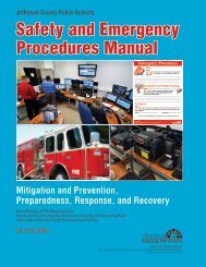 Safety and Emergency Procedures Manual