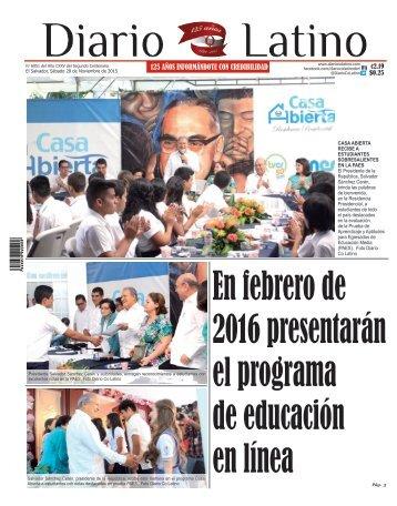 Edición 28 de Noviembre de 2015