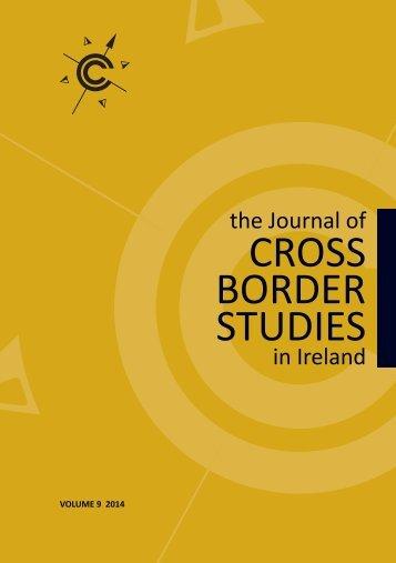 CROSS BORDER STUDIES