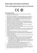 Sony VPCF24A4E - VPCF24A4E Documenti garanzia Ungherese - Page 5