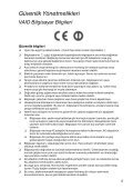 Sony VPCF24A4E - VPCF24A4E Documenti garanzia Turco - Page 5