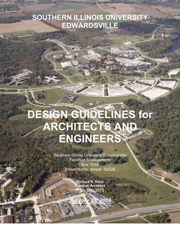 guide for architects and engineers - Southern Illinois University ...