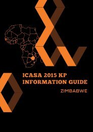 ICASA 2015 KP INFORMATION GUIDE
