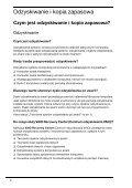 Sony VGN-SR51RF - VGN-SR51RF Guida alla risoluzione dei problemi Polacco - Page 4