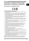 Sony VPCW21S1R - VPCW21S1R Documenti garanzia Polacco - Page 5