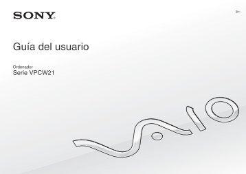 Sony VPCW21S1R - VPCW21S1R Istruzioni per l'uso Spagnolo