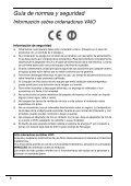 Sony VPCEA3D4E - VPCEA3D4E Documenti garanzia Spagnolo - Page 6