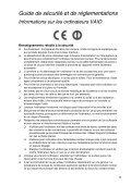 Sony VPCEH2F1E - VPCEH2F1E Documenti garanzia Francese - Page 5