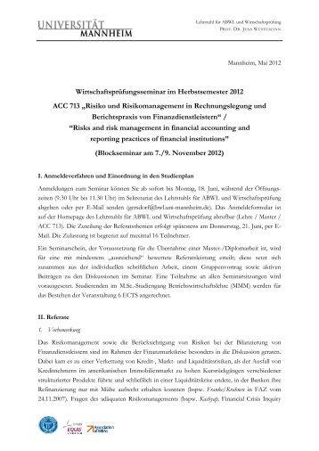 Merkblatt - Lehrstuhl für ABWL und Wirtschaftsprüfung