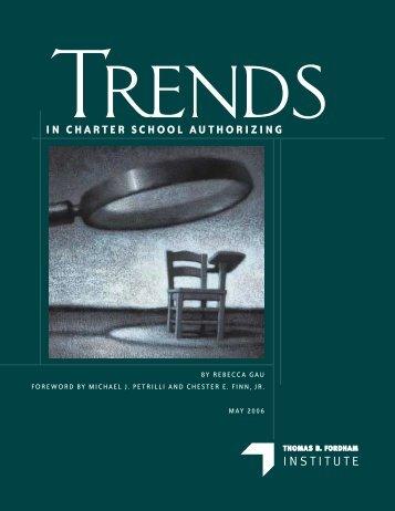IN CHARTER SCHOOL AUTHORIZING - Heartland Institute