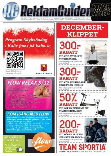 ReklamGuiden Kalix v49 -15 (30/11-6/12)