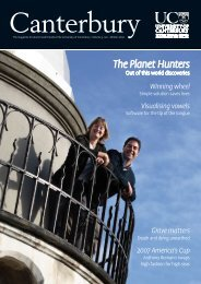 The Planet Hunters - Communications - University of Canterbury