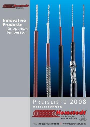 Innovative Produkte - Hemstedt