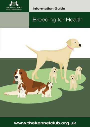 Breeding for Health