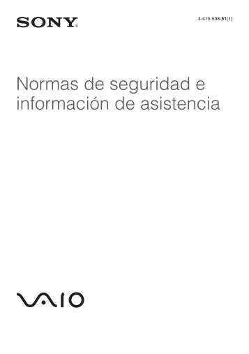 Sony VPCEJ3T1E - VPCEJ3T1E Documenti garanzia Spagnolo