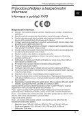 Sony VPCL12S2E - VPCL12S2E Documenti garanzia Ceco - Page 5