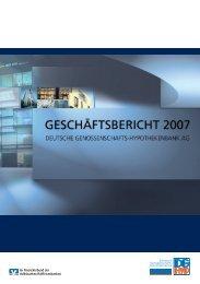 DG HYP Geschäftsbericht 2007
