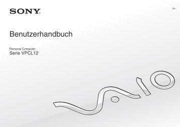 Sony VPCL12S2E - VPCL12S2E Istruzioni per l'uso Tedesco