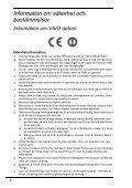 Sony VPCEJ1J1E - VPCEJ1J1E Documenti garanzia Finlandese - Page 6