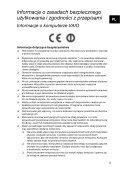 Sony VPCJ23M1E - VPCJ23M1E Documenti garanzia Rumeno - Page 5