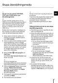 Sony SVS1311H4E - SVS1311H4E Guida alla risoluzione dei problemi Svedese - Page 7
