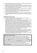 Sony SVS1311H4E - SVS1311H4E Documenti garanzia Rumeno - Page 6