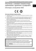 Sony VPCS12C5E - VPCS12C5E Documenti garanzia Polacco - Page 5