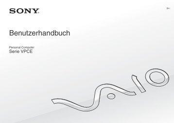 Sony VPCEB2S1E - VPCEB2S1E Istruzioni per l'uso Tedesco