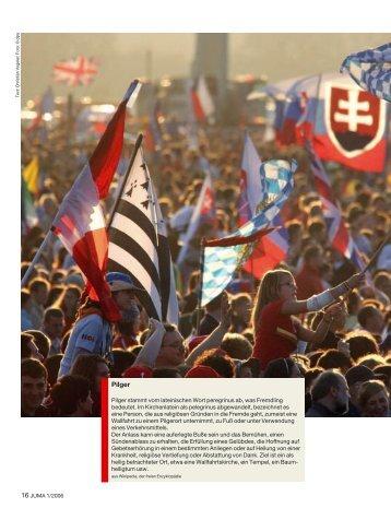 JUMA 1/06, Seiten 16-17, Im Meer der bunten Fahnen - Iundervisning