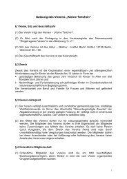 """Satzung des Vereins """"Kleine Teilchen"""" - Helmholtz-Zentrum Berlin"""