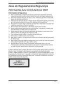 Sony VGN-NS31EH - VGN-NS31EH Documenti garanzia Portoghese - Page 5