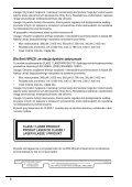 Sony VPCEB1C5E - VPCEB1C5E Documenti garanzia Rumeno - Page 6